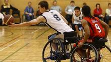 The national wheelchair basketball teams are major forces in the Paralympic world, and therefore were targeted to the funding tune of $1.4-million by the Own the Podium program last year. (Paul Darrow for The Globe and Mail/Paul Darrow for The Globe and Mail)