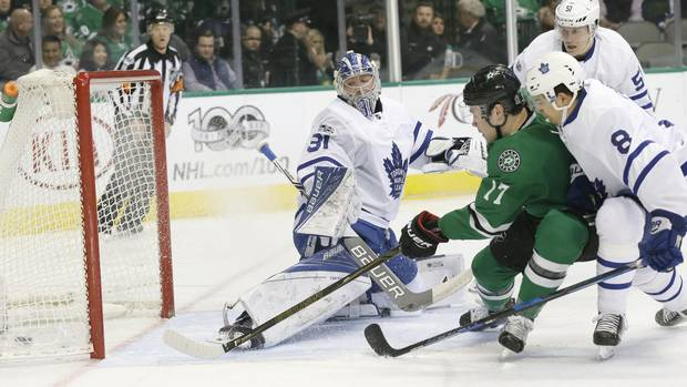 Stars Score Five Goals In First Period En Route To Win Over Leafs