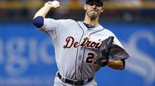 In this Sunday, June 30, 2013, photo, Detroit Tigers starting pitcher Rick Porcello throws during a baseball game against the Tampa Bay Rays in St. Petersburg, Fla. (Mike Carlson/AP)