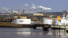 The Irving Oil refinery in Saint John, NB. (Roger Hallett for The Globe and Mail)