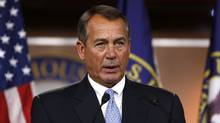 U.S. House Speaker John Boehner suggested $1.4-trillion in spending cuts, considerably more than the $600-billion in reductions the White House proposed last week. (Larry Downing/Reuters)