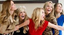 The Real Housewives of Vancouver cast: (from left) Ronnie Seterdahl Negus, Jody Claman, Christina Kiesel, Reiko MacKenzie and Mary Zilba (CP)