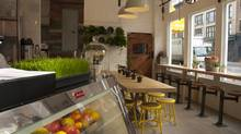 Stop by hipster hideaway The Butcher's Daughter café in NoLiTa.