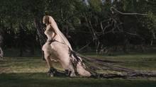 """Kirsten Dunst in a scene from """"Melancholia"""" (TIFF)"""