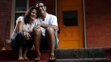 Ana Ilha and Amir Attaran at their home in Ottawa August 18, 2009. (Blair Gable For The Globe and Mail)