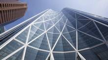 The 58-storey Bow building in Calgary is the tallest office tower west of Toronto's CN tower. (CHRIS BOLIN FOR THE GLOBE AND MAIL/Freelance)