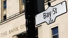 A Bay Street sign seen in 2013. (Mark Blinch/Reuters)