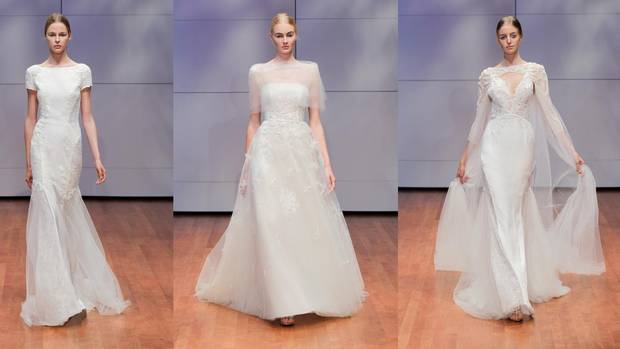 Luxury Wedding Dresses New York : Canadian luxury bridal designer takes on new york and the