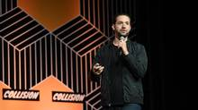 Alexis Ohanian, co-founder of Reddit, speaks at Collision 2017 in New Orleans, Louisiana. Ohanian says that as U.S. loses its competitive advantage, Canada is poised to reap the benefits. (Diarmuid Greene / Collision / Sportsfile/Sportsfile)