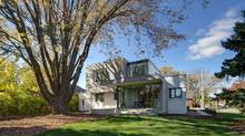 The home on Longwood Road in Hamilton remains true to its 1939 roots while shedding new light on its curved space. (A. Marthouret / Revelateur Studio)