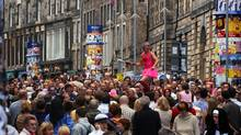 The streets of Edinburgh transform during the Fringe Festival. (Cate Gillon/Edinburgh Festival Fringe)