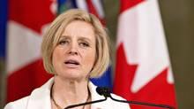 Alberta Premier Rachel Notley (File)