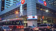 BMO at the corner of Bay Street and King Street in Toronto. (JENNIFER ROBERTS/JENNIFER ROBERTS FOR)