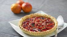 Blood Orange Pistachio Tart. (Kevin Van Paassen/Kevin Van Paassen/The Globe and Mail)