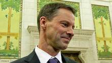 Nigel Wright, chief of staff for Prime Minister Stephen Harper, appears before a Commons committee on Nov. 2, 2010. (Sean Kilpatrick/Sean Kilpatrick/The Canadian Press)