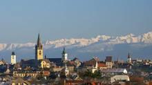 The town of Sibu in Romania. (Romanian Tourist Office)