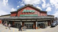 The deal could bolster Sobeys' position by making it a bigger supplier to grocers in Atlantic Canada, giving it more influence in determining pricing and product offerings. (Todd Korol For The Globe and Mail)