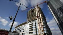 A condo construction site (Deborah Baic/The Globe and Mail)