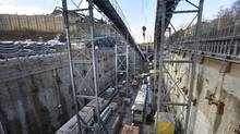 The 15-year plan includes proposals to expand the Eglinton Crosstown, pictured, to the east and west, and to build a relief line into the downtown along Queen. (Fred Lum/The Globe and Mail)