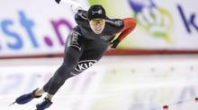 Christine Nesbitt was a perennial favourite in long-track speed skating, but she was sidelined by Celiac disease in 2013. (Jeff McIntosh/THE CANADIAN PRESS)