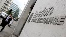 The London Stock Exchange (ANDY RAIN/EPA)