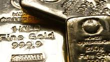 File photo of gold bars in the Austrian Mint. (Leonhard Foeger/Reuters)