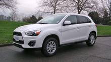 Regina police are alerting the public to a stolen 2013 Mitsubishi RVR with plate number 241JCU, which looks like this similar vehicle seen in an undated police handout image. (Regina Police Service/THE CANADIAN PRESS)