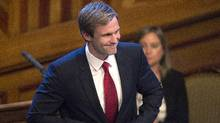 New Brunswick Premier Brian Gallant said he won't make major reforms without first putting it to a referendum or seeking a mandate from voters in an election. (Andrew Vaughan/THE CANADIAN PRESS)