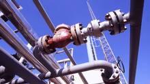 Natural gas pipes