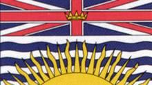 B.C. provincial flag