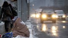 In Ontario, a single individual may receive $599 per month in social assistance; a single parent with one child may receive $1,023 per month (Peter Power/The Globe and Mail)