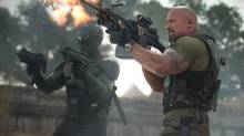 Dwayne (the Rock) Johnson in G.I. Joe: Retaliation. (Jaimie Trueblood/AP)