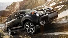 2014 Subaru Forester: This compact SUV's sales were up 61 per cent through the first third of 2014. (Subaru)