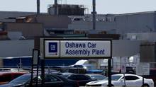 Images of the GM car plant in Oshawa on July 20, 2013. (Peter Power/The Globe and Mail)