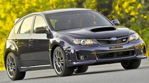 2012 Subaru WRX STI five-door