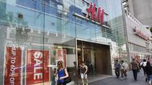 The H&M store near Bloor St. West and Yonge St. is seen in this file photo. (Fred Lum/The Globe and Mail)