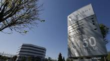 The head offices of Valeant Pharmaceuticals International Inc. are seen in Laval, Quebec May 20, 2014. Canada's Valeant Pharmaceuticals International Inc said it will not make an all-cash bid for drugmaker Allergan Inc as many had expected last week when the company said it would improve its cash and stock offer for the Botox maker. (Christinne Muschi/Reuters)