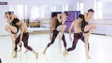 Members of the Alberta Ballet are seen in this undated handout photo. Choreographers from three Canadian ballet companies will join forces along with homegrown composers for a new production debuting in Ottawa prior to heading across the country. (Leiland R.W.Charles/THE CANADIAN PRESS)