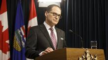 Alberta Finance Minister Joe Ceci says the changes will lead to an estimated savings of $16-million a year. (JASON FRANSON/THE CANADIAN PRESS)