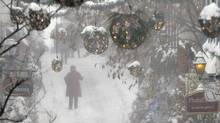 People walk in the old town during a snowstorm in Quebec City December 22, 2013. (MATHIEU BELANGER/Reuters)