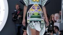 Mary Katrantzou runway at London Fashion Week 2012 (Jonathan Player/Handout)