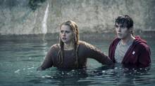 Teresa Palmer and Nicholas Hoult in a scene from Warm Bodies. (Jan Thijs)