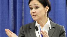 Quebec government lawyer Suzanne Côté is shown in Quebec City on Aug. 30, 2010. (MATHIEU BELANGER/THE CANADIAN PRESS)