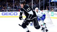 For Milan Lucic, the timing of his return to Boston really couldn't be better. He's been with the Los Angeles Kings for five months now, long enough to distance himself from his days as a Bruin. (Harry How/Getty Images)