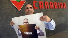 Stephen Foster is enjoying his in-house fame as a poster boy for Canadian Tire's new employee engagement program. (Fred Lum/The Globe and Mail)
