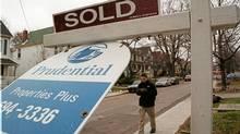 Home sales in Toronto (DEBORAH BAIC/GLOBE AND MAIL)
