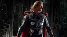 Chris Hemsworth plays Thor. (AP/Paramount Pictures)