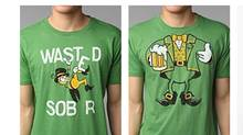 These St. Patrick's Day T-shirts are for sale at Urban Outfitters. (urbanoutfitters.com/urbanoutfitters.com)
