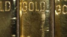 Gold bars. (LISI NIESNER/REUTERS)