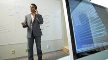 Kunal Gupta, CEO of Polar Mobile (JENNIFER ROBERTS For The Globe and Mail)